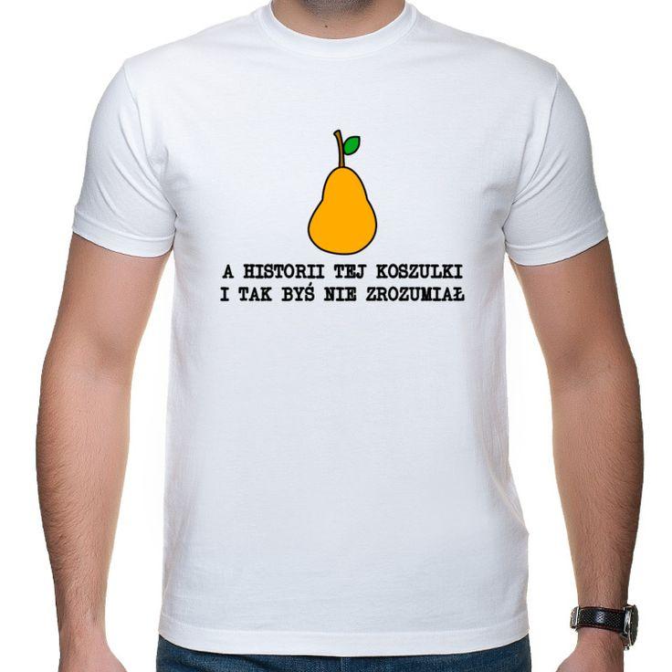 A historii tej koszulki i tak byś nie zrozumiał - Grucha