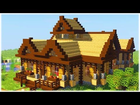 Minecraftstream Minecraft Tutorials Advanced Starter House Tutorial How To Build A In Easy 2