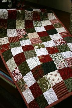 1000+ ideas about Christmas Quilt