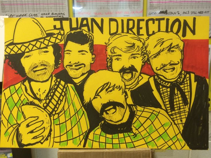 So, I had to make a One Direction sign. Thought I'd make the best out of it.