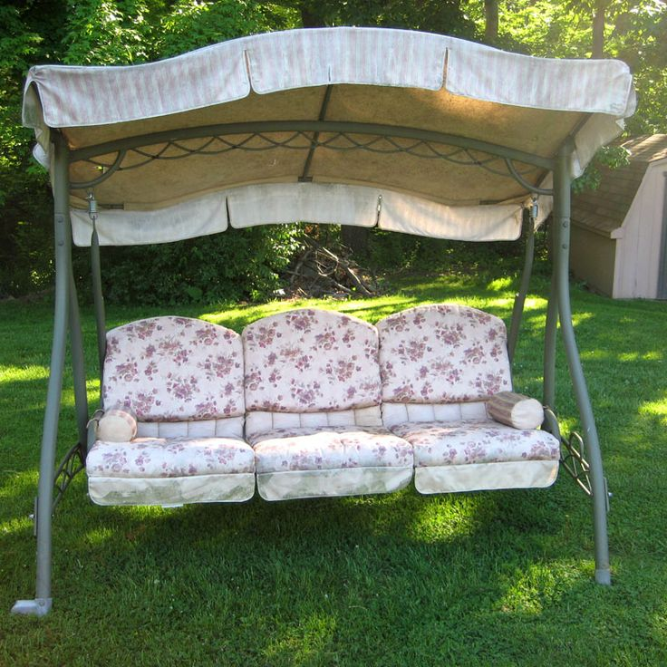 Swing Cushion Covers, End Of Summer Sale! Sunbrella Fabric, Costco Swing  Covers,