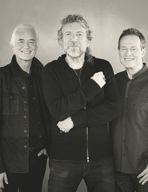 Jimmy Page, Robert Plant & John Paul Jones 2007//.,MAR16