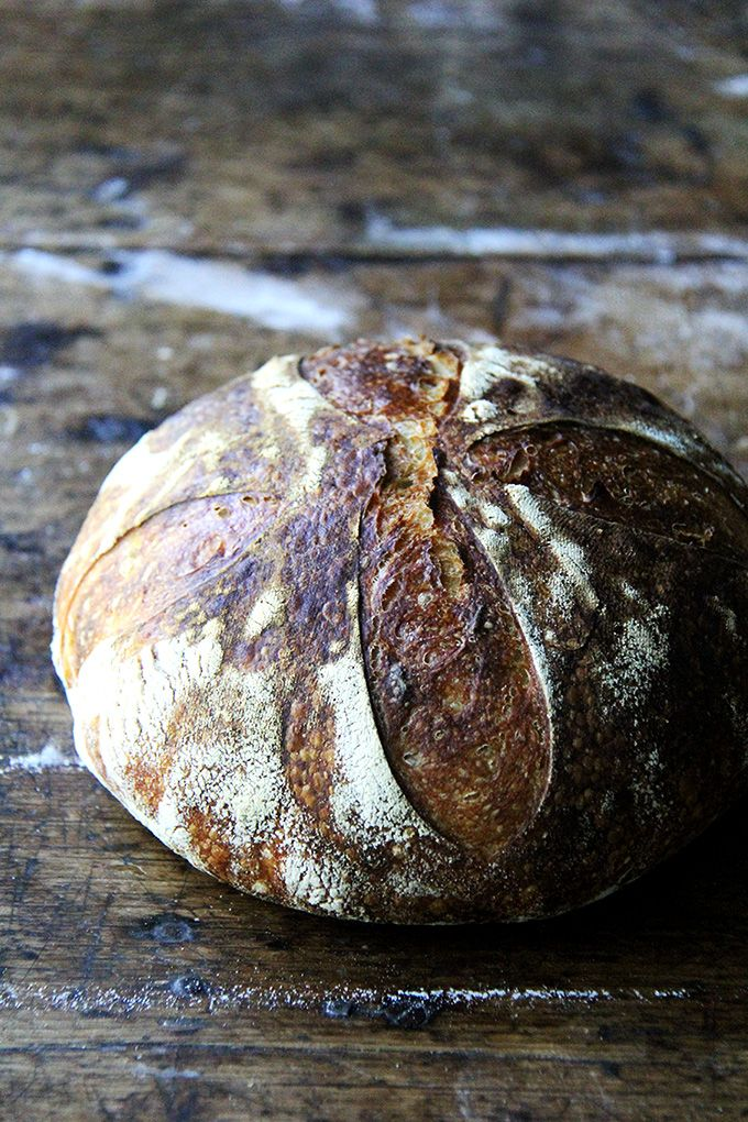 Making sourdough bread doesn't have to be complicated. Once you make this recipe once or twice, the rhythm becomes second nature.