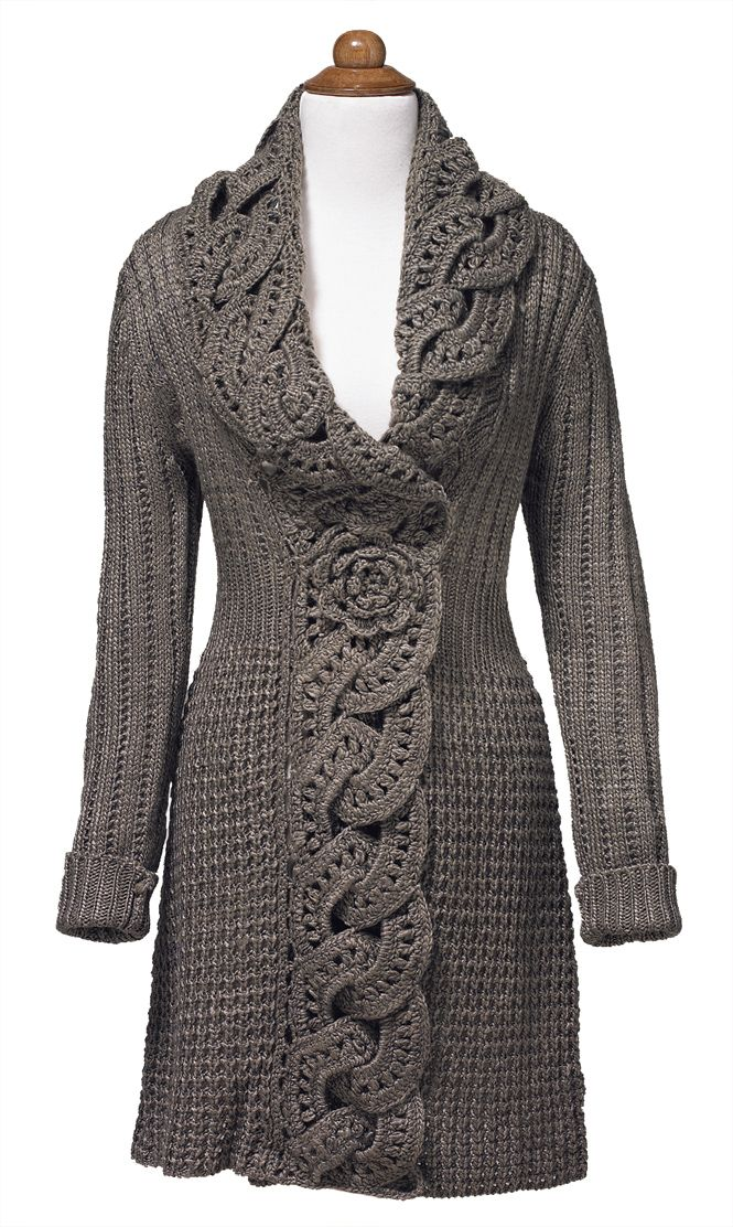 Love it - Crochet Flower Coat