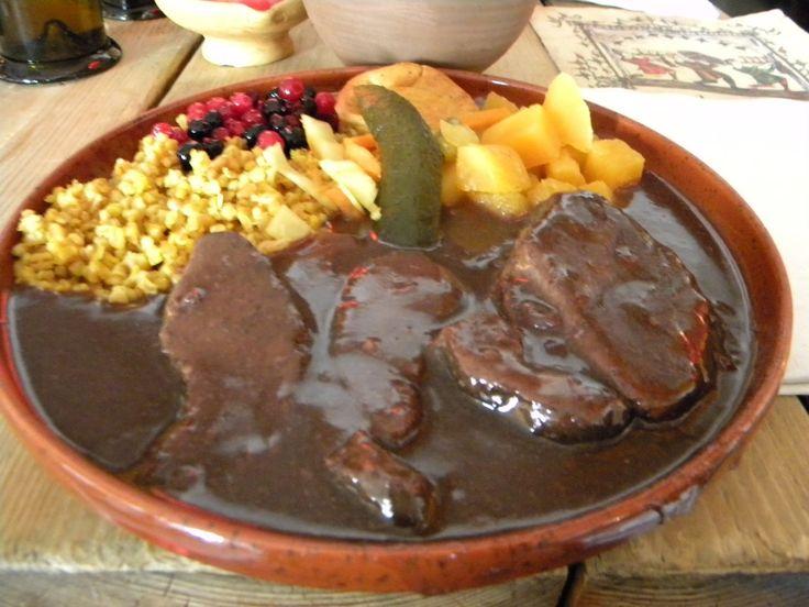 bear meat, estonian food