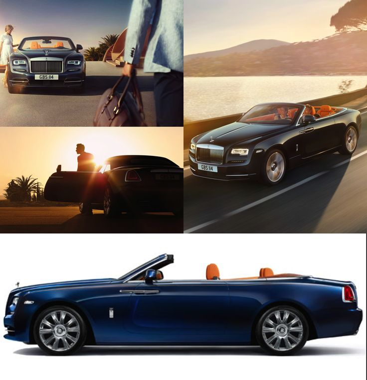 """A New Rolls-Royce. It's always a better day when the finest car maker in the world releases a new model. Ushering in a new age for the finest in open top motoring, the Rolls-Royce Dawn. """"Quite simply, it is the sexiest Rolls-Royce ever built."""" #rollsroycedawn #rollsroyce #luxury"""