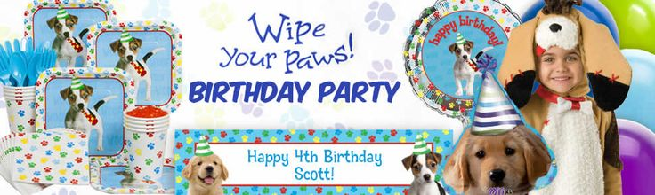 Dog Party party supplies