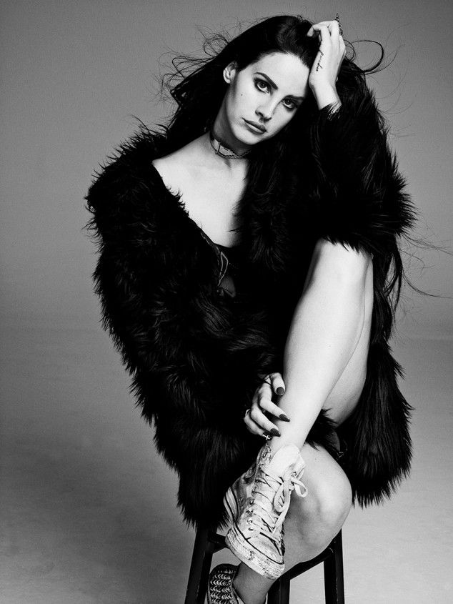 Lana Del Rey for Nylon Magazine, November 2013.  Photograph by Marvin Scott Jarrrett.