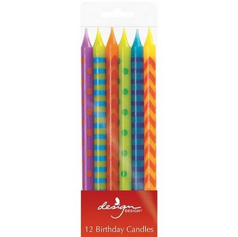 Candle - Assorted Colours and Designs #966639 $11.99 www.lambertpaint.com