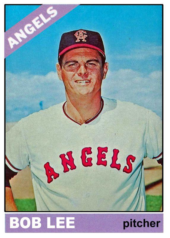 Full roster set of 1966 California Angels