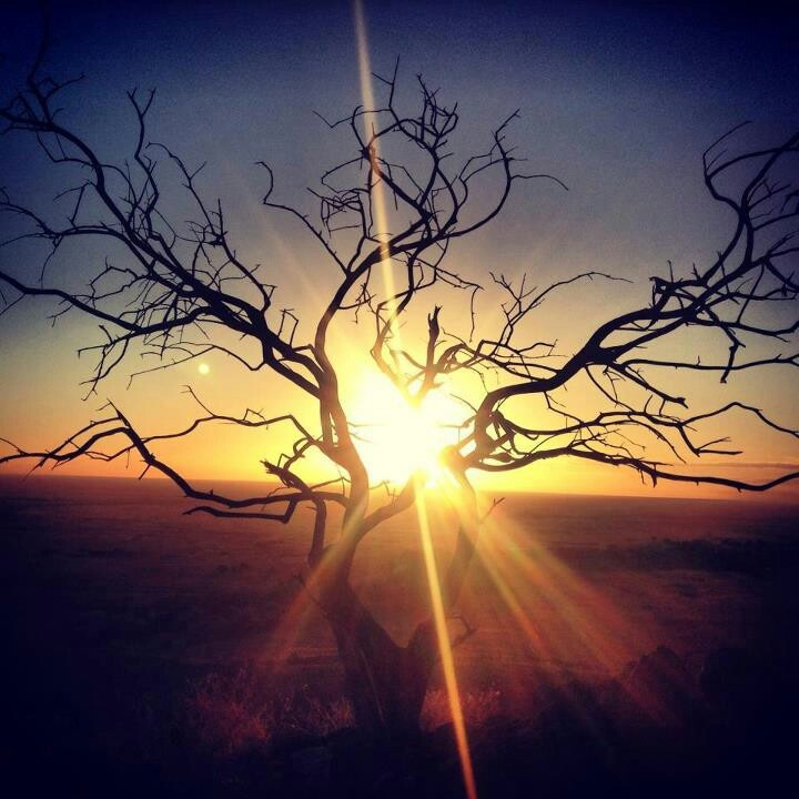 Sunset At broken Hill city, #Australia