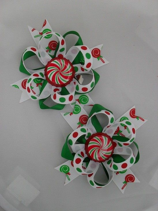 Cute bows! I really want to learn to make bows. :)
