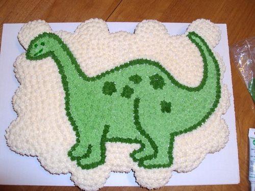 how to make a sugarpaste dinosaur