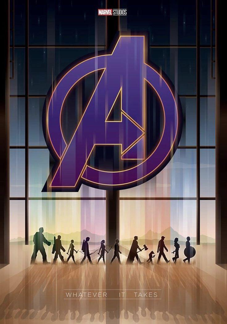 Avengers: Endgame fan-made poster