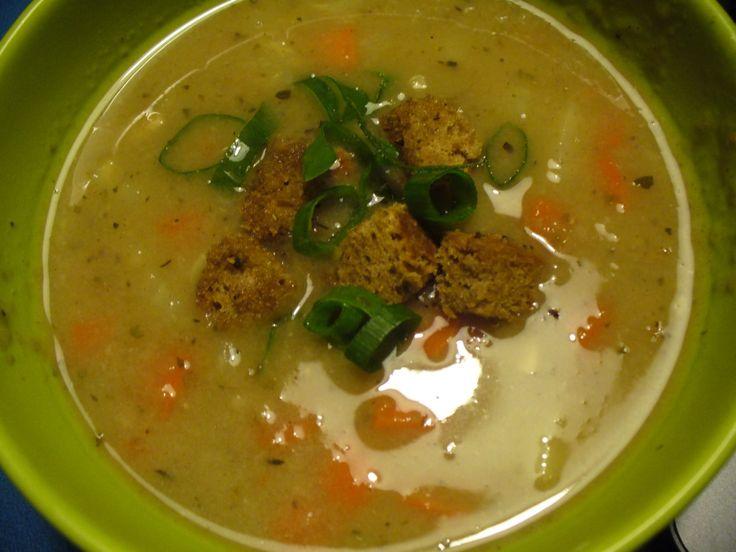 Jak připravit chlebovou polévku s kořenovou zeleninou | recept