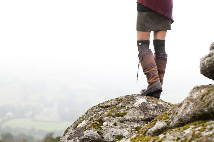 Break out of the traffic to where roads wind alongside riverside paths. #WhereDoYouGoInYours #DubarryBoots #Dartmoor