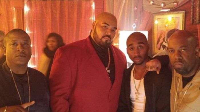 The much-delayed Tupac biopic All Eyez on Me began shooting last month. We've already met the actors who are playing Tupac and Biggie, Demetrius Shipp Jr and Jamal Woolard respectively. Now we get the reveal on Suge Knight, who will be portrayed by the relatively unknown actor Dominic L. Santana. While we wouldn't say Santana …