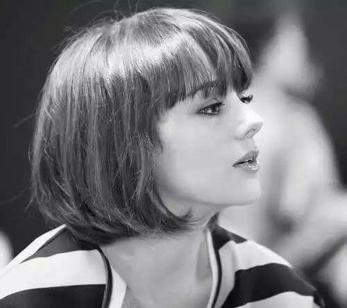 cute short bob haircuts 25 best ideas about bob with bangs on 1478 | 32dca2d1dc36fac84ae899fe41728adf cute bob haircuts short haircuts with bangs