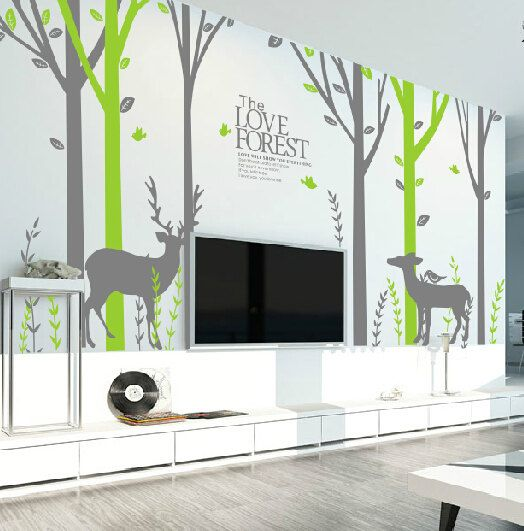 Best Wall Stickers Images On Pinterest Wall Stickers Tree - Custom vinyl wall decals deer