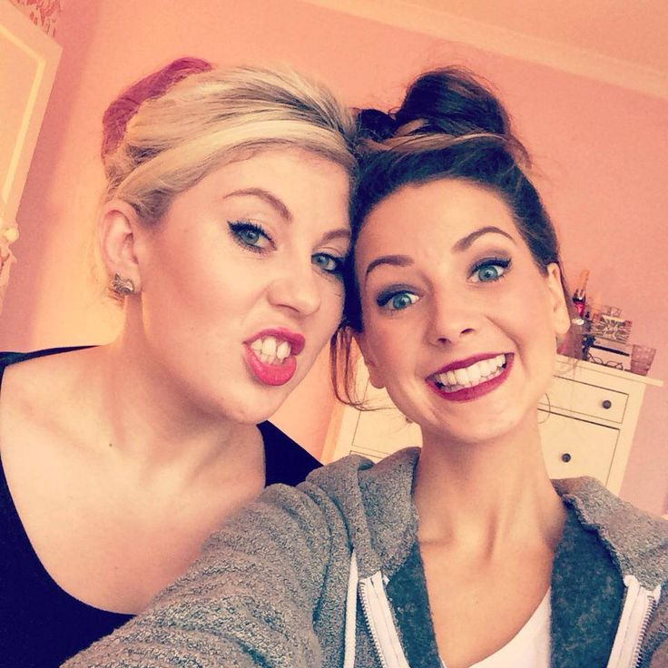 Zoella & Sprinkle of Glitter. I absolutely love their friendship(: