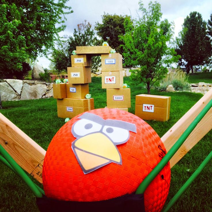Angry Birds Outside Play!