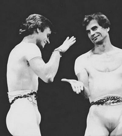 Baryshnikov and Nureyev.  Classics in personality, talent, history.