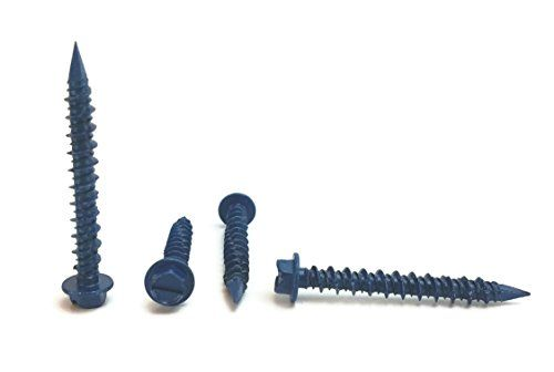 concrete screws and drill bit