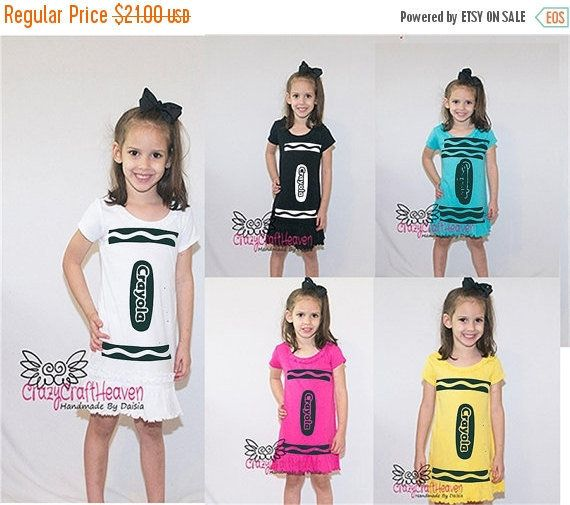 Crayon de traje, 6 meses-6 x, traje Color, lindo traje, traje de bebé, traje de niño, traje de Crayola, color, traje de la escuela.