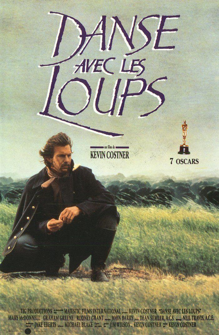 Danse avec les loups est un film américain réalisé par Kevin Costner en 1990. Il s'agit d'une adaptation du roman du même nom écrit en 1988 par Michael Blake