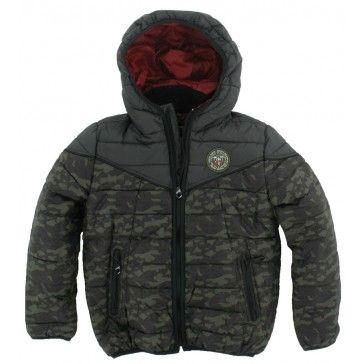Reset - Winterjas Camouflage army