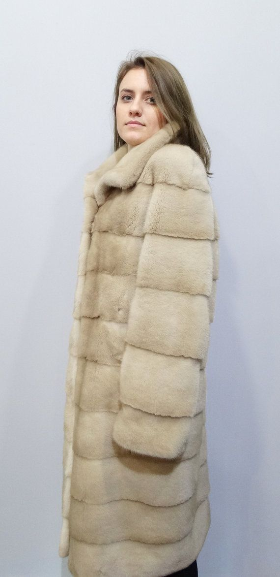 Long Fur CoatReal Mink FurFur CoatReal Fur by FilimegasFurs