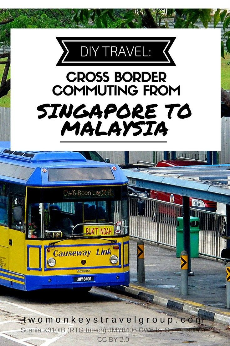DIY Travel: Cross-border commuting from Singapore to Malaysia  Do you have a day or two to spare for a cross-country trip, other than your destination like Singapore? Here are some tips for crossing the Border from Singapore to Malaysia.    Does that country happen to be Malaysia? You're lucky because these two countries can be reached within five to seven hours depending on traffic conditions. Don't worry about how to do it because we got it covered for you.