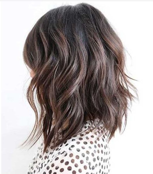 New Layered Long Bob Hairstyles 2019