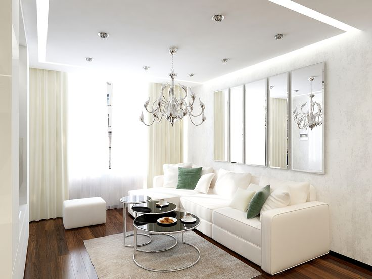 Luce Argento Apartment Interior in Modern Style. Interior with open floor plan and three functional areas to flow smoothly from one to another create an atmosphere of hospitality and willingness to gather all the friends and relatives at one large table in the bright moments of life. #3DVisualisation #Render #Interior #Design #Project of 2014 #Moscow #Luxury #Expressive #Dining #Living #Room #Apartment #Architect #Designer #Vashurkin #Alexandr #AlexVasDesign #vashurkindesign.com