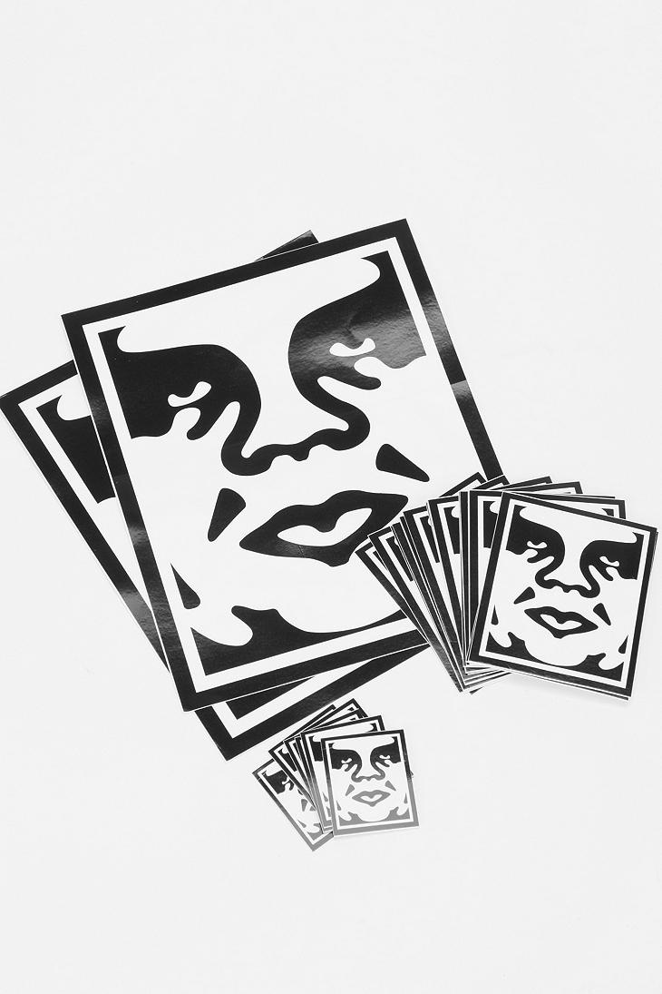 188 best i own these stickers and got most of them free images on obey sticker pack urbanoutfitters buy some