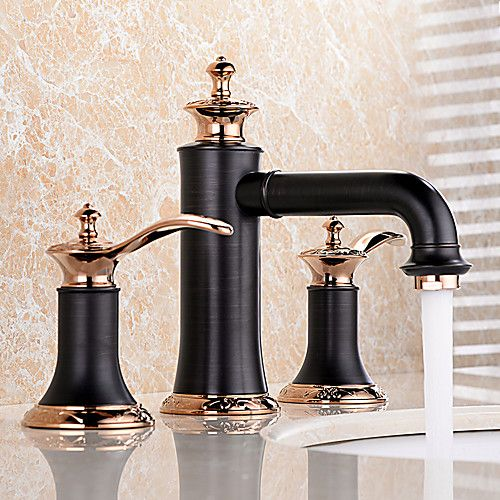 Bathroom Sink Faucet Widespread New Design Oil Rubbed Bronze