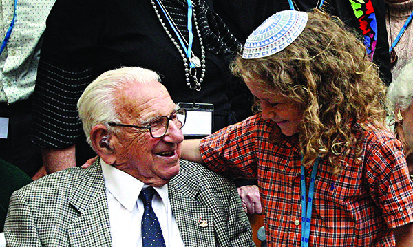 """""""At the age of only 29, Nicholas Winton showed extraordinary courage, doing whatever it took to rescue more than 600 children. I am proud to be Prime Minister of a country with people like Sir Nicholas in it. I wish him a very happy birthday."""" - David Cameron, UK Prime Minister. People all around the world are sending birthday greetings to nearly-105-year old Sir Nicholas Winton! Read more in The Jewish News UK. #HappyBirthdayWinton"""