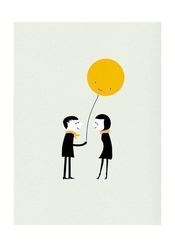 Affiche Present Blanca - Lili's