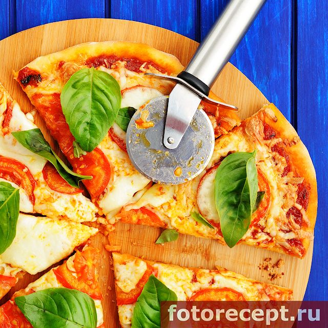 Пицца Маргарита | Простые рецепты