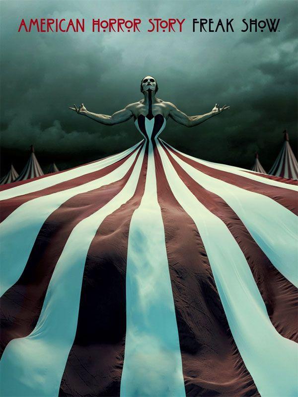 American Horror Story une série TV de Brad Falchuk avec Sarah Paulson, Evan Peters.