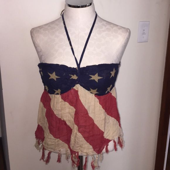 fourth of july halter tops
