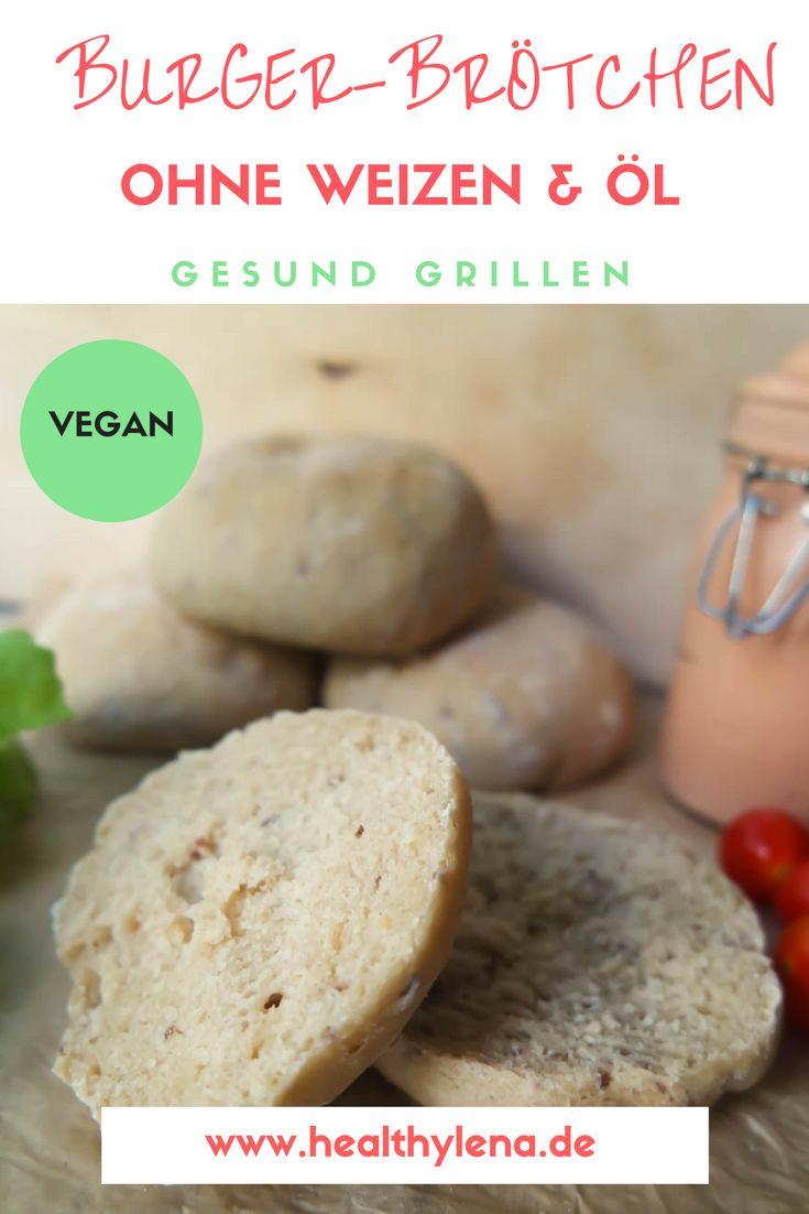 Für meine Vegan Grillen-Reihe wage ich mich als nächstes an selbstgemachte vegane Burger-Brötchen ohne Weizen & Öl. Vegane Burger sind beim Grillen nämlich immer eine tolle Idee, die oft selbst eingefleischte Mischköstler überzeugen können. Hier geht's zum Rezept für die veganen Brötchen.