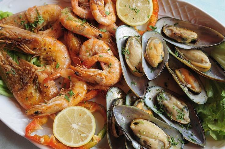 #Meeresfrüchte Platte, #Spanien  #Seafood plate, #Spain    © Easyvoyage