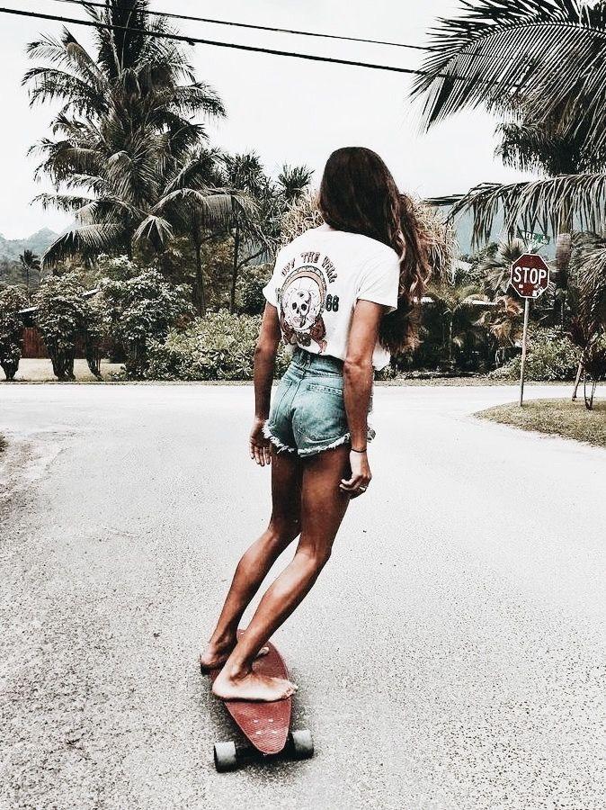 Skater-Mädchen | neu gepinnt von hosenschnecke