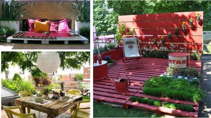 muebles con palets, reciclar y dar uso estético es posible