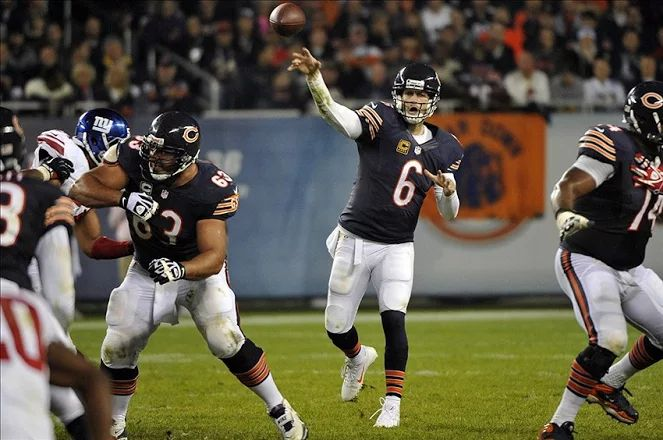 "Jay Cutler : Good Things in 2016?  Bears coach John Fox said he is ""expecting good things again"" from Jay Cutler.  Fantasy Analysis: Even with the loss of Matt Forte and Martellus Bennett, Cutler should put up decent numbers with both Alshon Jeffery and Kevin White returning from injury plagued seasons.  Currently ranked QB 22 in our #FantasyFootball projections.   www.FantasyDraftTools.com  www.FFMastermind.com  #FantasyFootballSoftware #FantasyFootballCheatsheets #Bears"