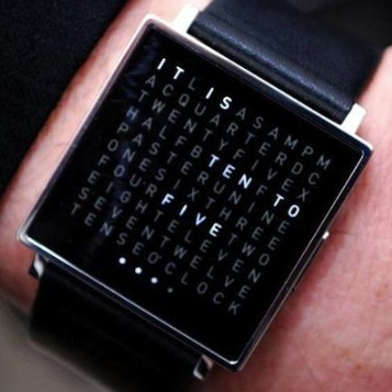Q clock | watch | Creative | black | fashion | cool product
