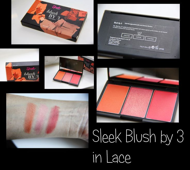 MichelaIsMyName: Sleek Blush by 3 in Lace