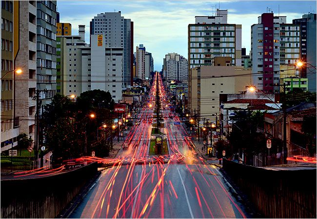 We visited Bob and Deb in 2000 when they lived in Curitiba, Brazil. Beautiful city!