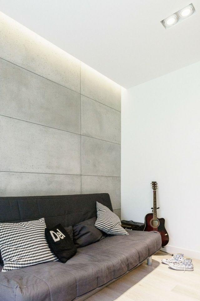 salon avec canapé design